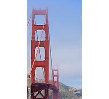 Golden Gate Bridge into the Distance Photographic Print