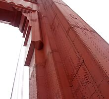 Golden Gate Bridge in Fog by JustLikeKat