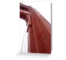 Golden Gate Bridge in Fog Greeting Card