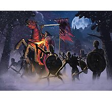 Count Vlad, the Blood Knight Photographic Print