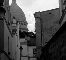 View to Sacre Cuer by tunna