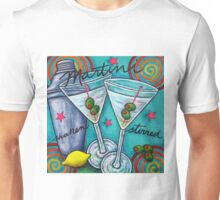 Retro Martini Unisex T-Shirt