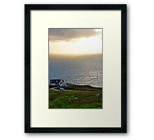 Skye Sunset Framed Print