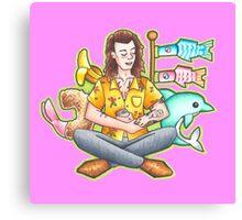 Emoji Harry Canvas Print