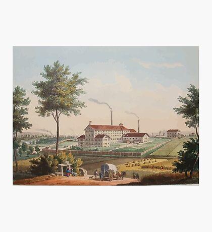 Johannes Läpple Heilbronn Zukerfabrik Eberhard Emminger Ca 1855 Farbig Photographic Print