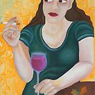 Red Wine I by Julia Keil