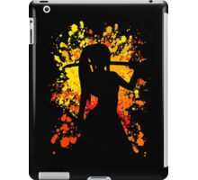 fairy tail erza scarlet paint splatter anime manga shirt iPad Case/Skin