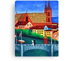 Remembering Basel Canvas Print