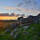 Dartmoor: Sunset at Black Tor by Rob Parsons