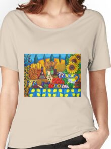 Tuscany Delights Women's Relaxed Fit T-Shirt