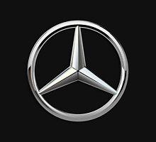 Mercedes-Benz - 3D Badge on Black T-Shirt