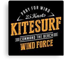 Kitesurfing Extreme Sport Canvas Print