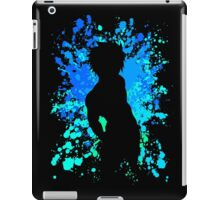 fairy tail gray fullbuster paint splatter anime manga shirt iPad Case/Skin