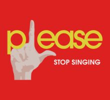 Please Stop Singing by studown