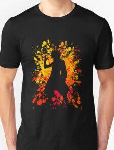 fairy tail natsu dragneel paint splatter anime manga shirt T-Shirt