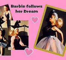 Barbie follows her Dream by patjila