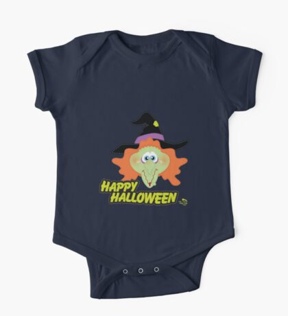 Evil Witch Happy Halloween One Piece - Short Sleeve