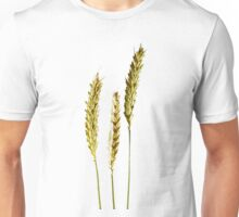 three wheat ears growing Unisex T-Shirt