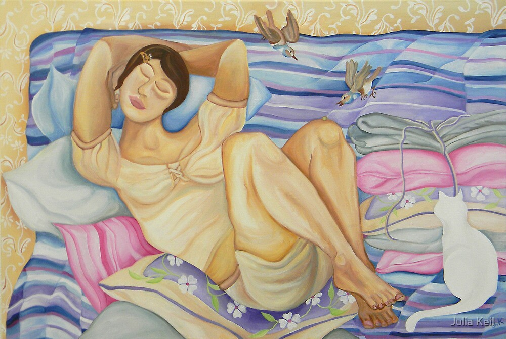 The Princess and the Pea by Julia Keil