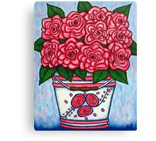 La Vie en Rose Canvas Print