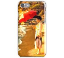 Old Fashioned Sunscreen iPhone Case/Skin