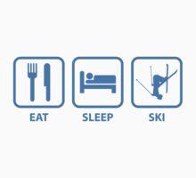 Eat Sleep Ski by FunniestSayings