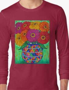 Zinnia Fiesta Long Sleeve T-Shirt
