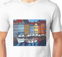 Colours of Nyhavn  Unisex T-Shirt