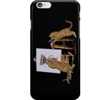 Cheeky Cats .. iphone case iPhone Case/Skin