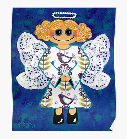 Blue Angel - She's mellow and sweet Poster
