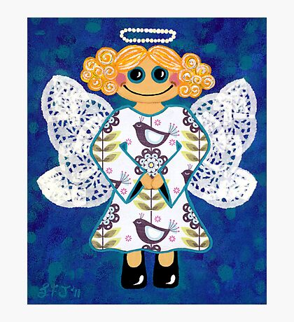 Blue Angel - She's mellow and sweet Photographic Print