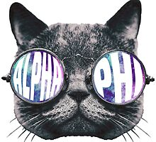 Alpha Phi Cat Galaxy by trendysticks