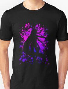 fate zero stay night rider paint splatter anime manga shirt T-Shirt