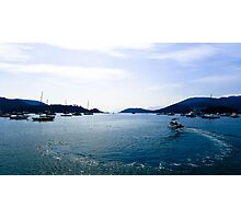 Hebe Haven, Sai Kung, Hong Kong Photographic Print