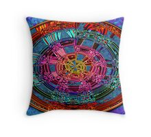 Abstract #66 Throw Pillow