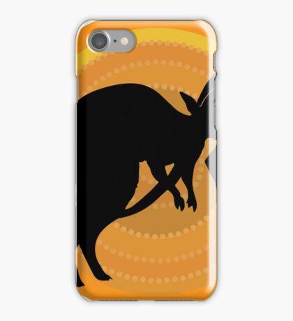 Kangaroos Running iPhone Case/Skin