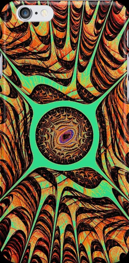 Tiger Eye iPhone Case by Anastasiya Malakhova