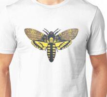 Death's Head Hawkmoth linocut Unisex T-Shirt