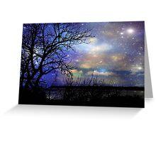 Night Fall © Greeting Card