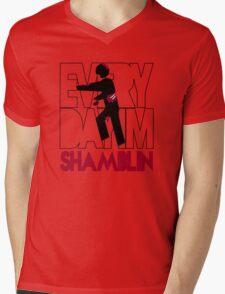 Everyday I'm Shamblin' Mens V-Neck T-Shirt