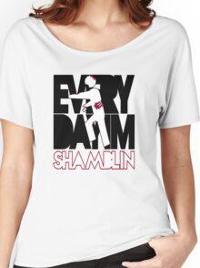 Everyday I'm Shamblin' (reverse) Women's Relaxed Fit T-Shirt