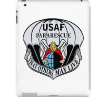 USAF Para Rescue Special Forces Logo iPad Case/Skin