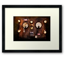High Voltage Framed Print