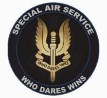 Special Air Service Logo One Piece - Short Sleeve