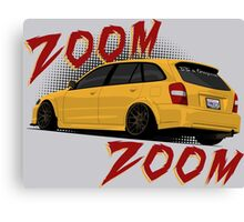Zoom Zoom Canvas Print