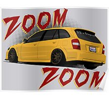 Zoom Zoom Poster