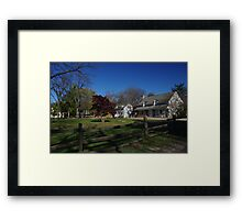 Landis Valley Entrance Fall Framed Print