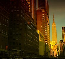Manhattanhenge by RICHARD CLINE