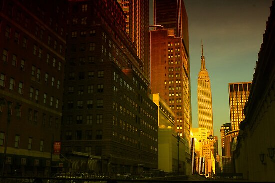 Manhattanhenge by RICHARD CLINE