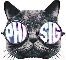 Phi Sig Cat Galaxy by trendysticks